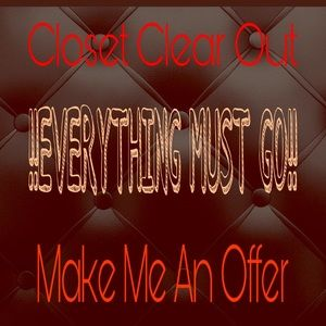 Other - 💥💥 EVERYTHING MUST GO 💥💥